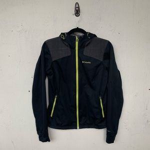 Columbia Black Full Zip Hoodie Jacket